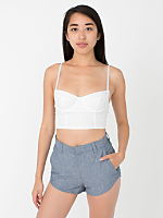 Scalloped Edge Short