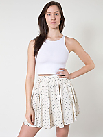 Polka Dot Short Gore Skirt
