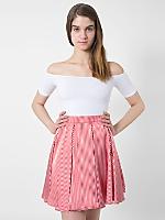 Striped Short Gore Skirt