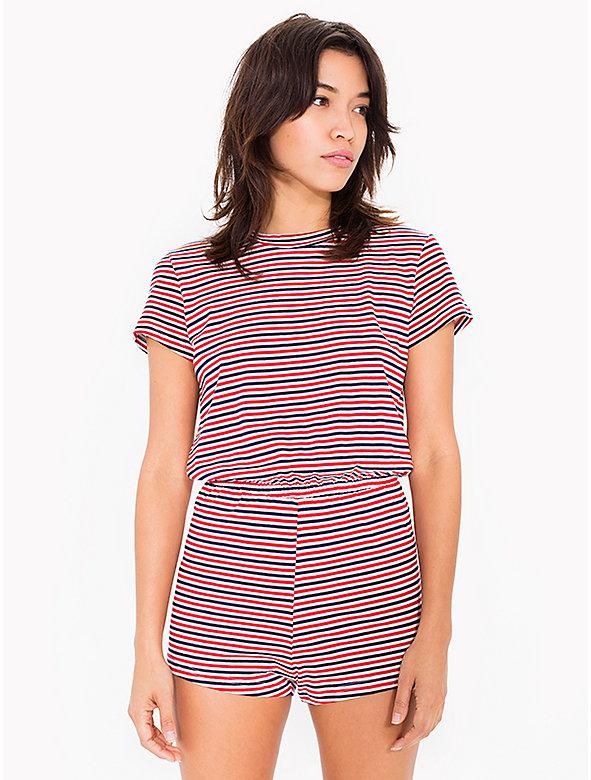 Stripe T-Shirt Romper