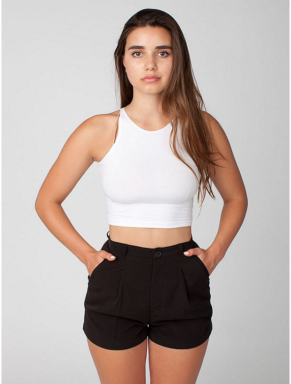 Relaxed Pleated Short