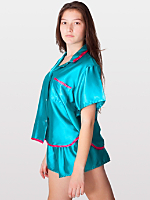 Satin Charmeuse Pajama Set