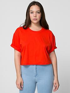 Short Sleeve Crop T-Shirt
