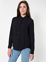 Basic Button Up Blouse