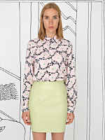 Nathalie Du Pasquier Mama Print Basic Button-Up Blouse