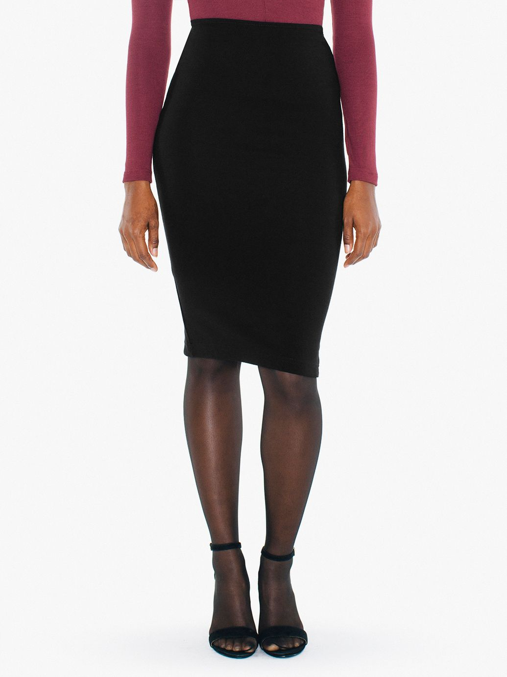 Mid Length Pencil Skirt - Dress Ala