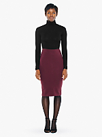 Ponte Mid-Length Pencil Skirt
