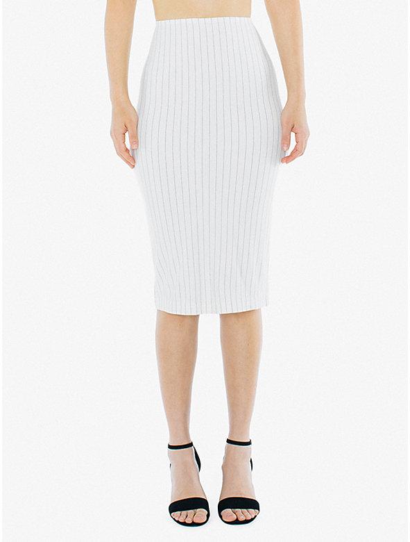 Ponte Mid-Length Pencil Skirt