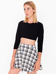 Plaid Circle Skirt