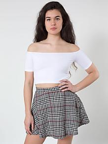 Check Circle Skirt