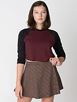 Houndstooth Circle Skirt