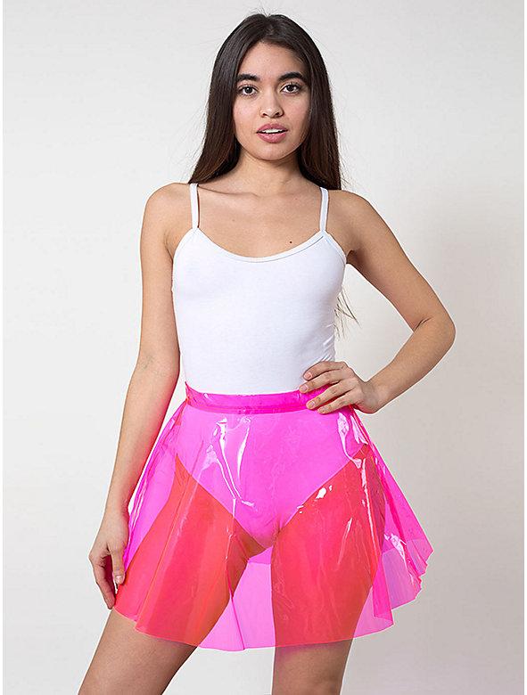 Clear PVC Circle Skirt