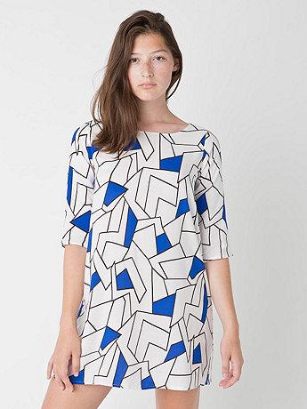 Printed Tent Dress