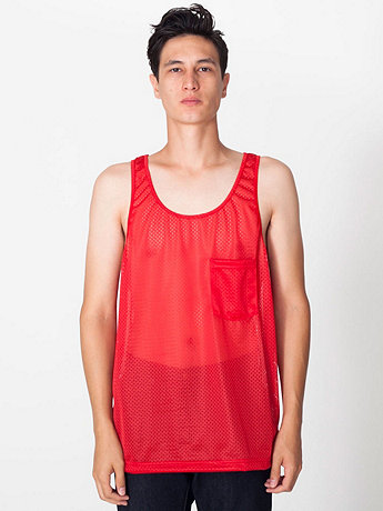 Mesh Big Pocket Tank