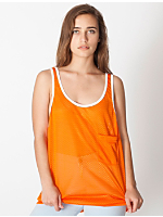Unisex Mesh Big Pocket Tank