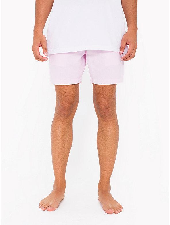 Cotton Twill Welt Pocket Short