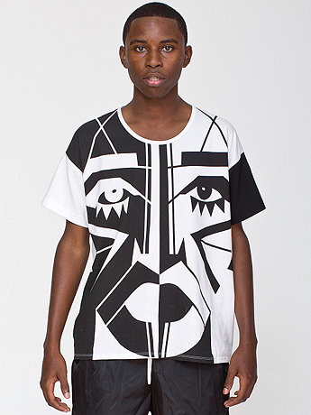 KESH X American Apparel Face Le New Big Tee