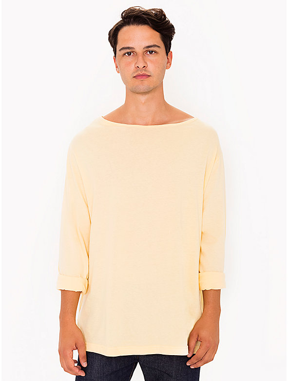 Long Sleeve Boat Neck Shirt