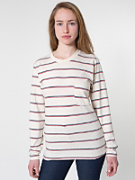 Unisex Long Sleeve Stripe Tee