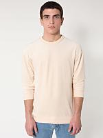 Velour Drop-Shoulder Sweater
