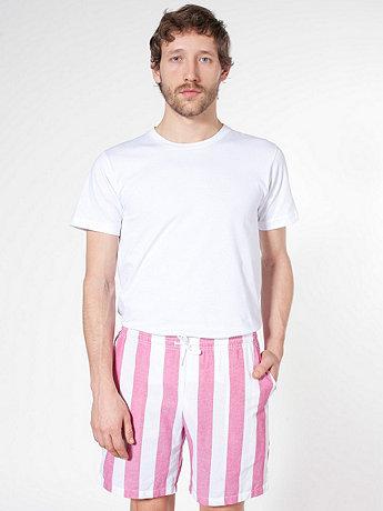 Striped Chambray Kool Short