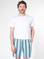 Striped Chambray Kool Short