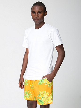 Tropical Print Kool Short
