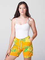 Unisex Tropical Print Kool Short