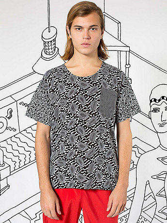 Nathalie Du Pasquier Mini Print Le New Big Pocket T-Shirt