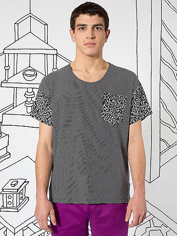 Nathalie Du Pasquier Pia Print Le New Big Pocket T-Shirt