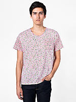 Le New Big Pocket Printed Tee