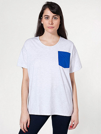 Unisex Le New Big Pocket Tee
