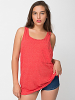 Unisex Le New Big Mock Twist Tank