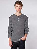 Knit Long Sleeve Henley