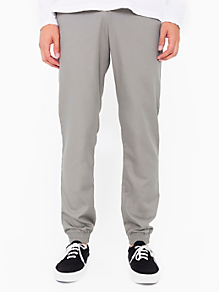 Welt Pocket Pant with Elastic Cuff