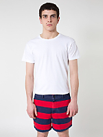 Striped Relaxed Short