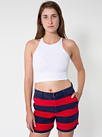Unisex Striped Relaxed Short