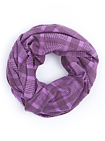 The Unisex Printed Circle Scarf