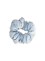 Denim Cotton Scrunchie