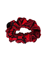 Printed Cotton Scrunchie