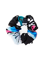 NeoMax Abstract Monk Print Scrunchie