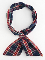 Plaid Flannel Twist Scarf