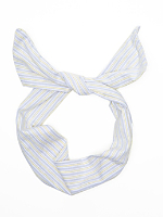 Printed Cotton Twist Scarf