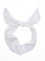 Printed Cotton Twist Scarf