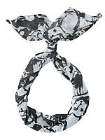 Printed Chiffon Twist Scarf