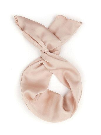 Poly Silk Twist Scarf