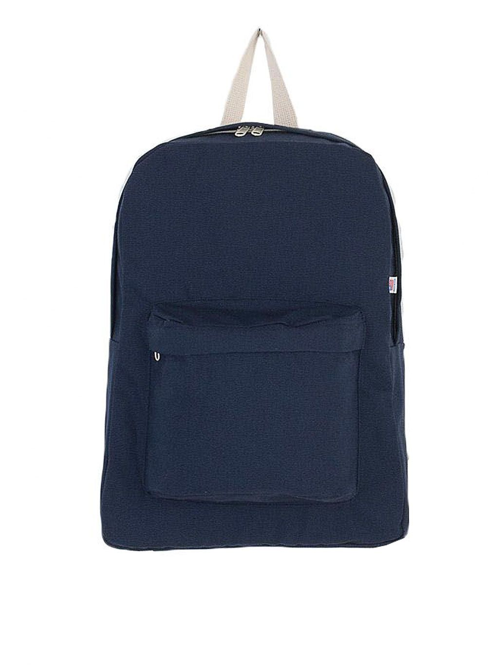 コットンキャンバススクールバッグ