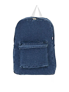 Denim School Bag