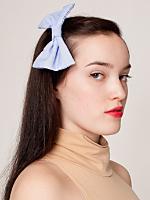 Chiffon Bow Hair Clip