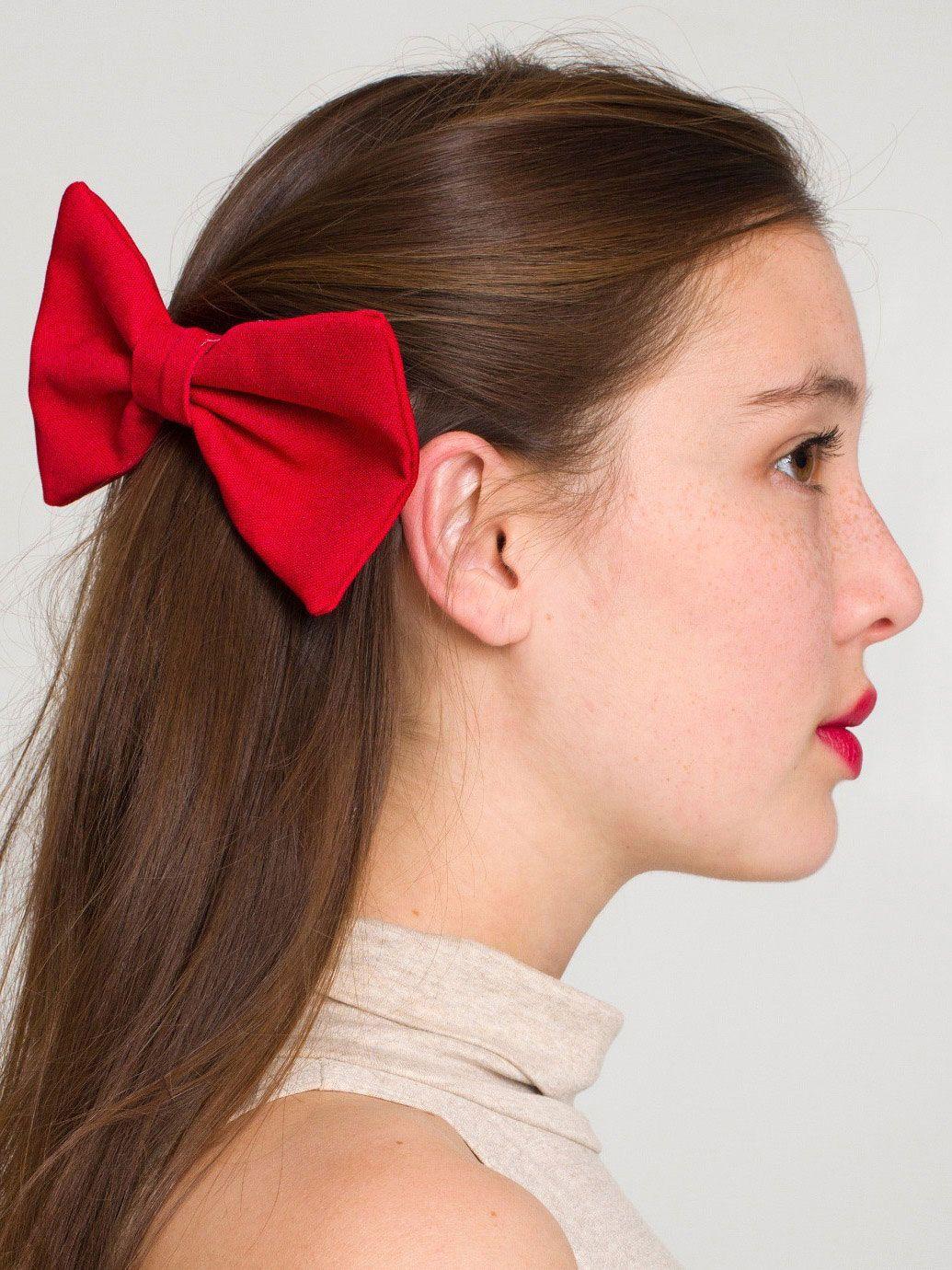 rsa0509dl - Bow Hair Clip